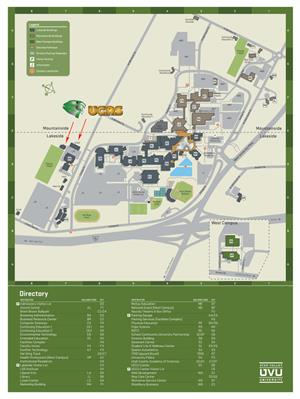 UVU Campus Map